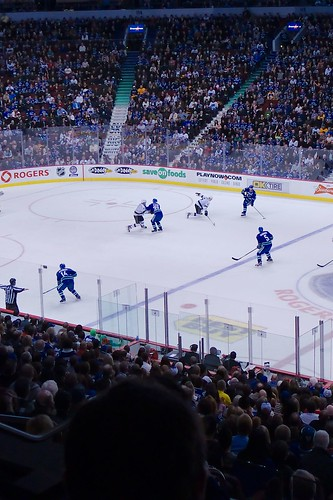 Canucks vs Kings