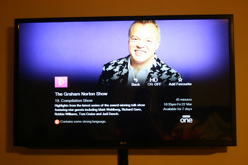 Graham Norton on iPlayer