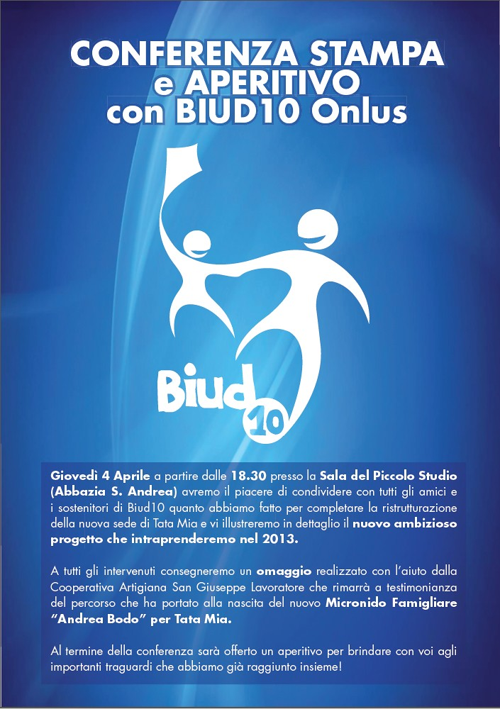Conferenza Stampa Biud10  2013