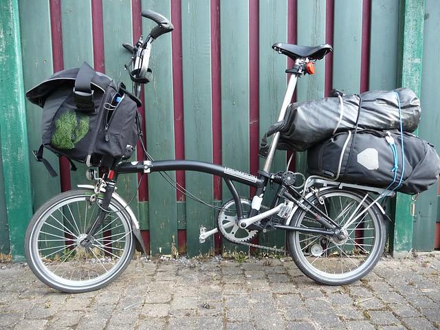 Brompton cycle touring