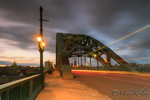 longexposure sunset colour newcastle evening cityscape dusk tynebridge lighttrails nightscene canon1740mmf4lusm traffictrails newcastlequayside northeastengland mikeridley canon5dmkll fellwalker1