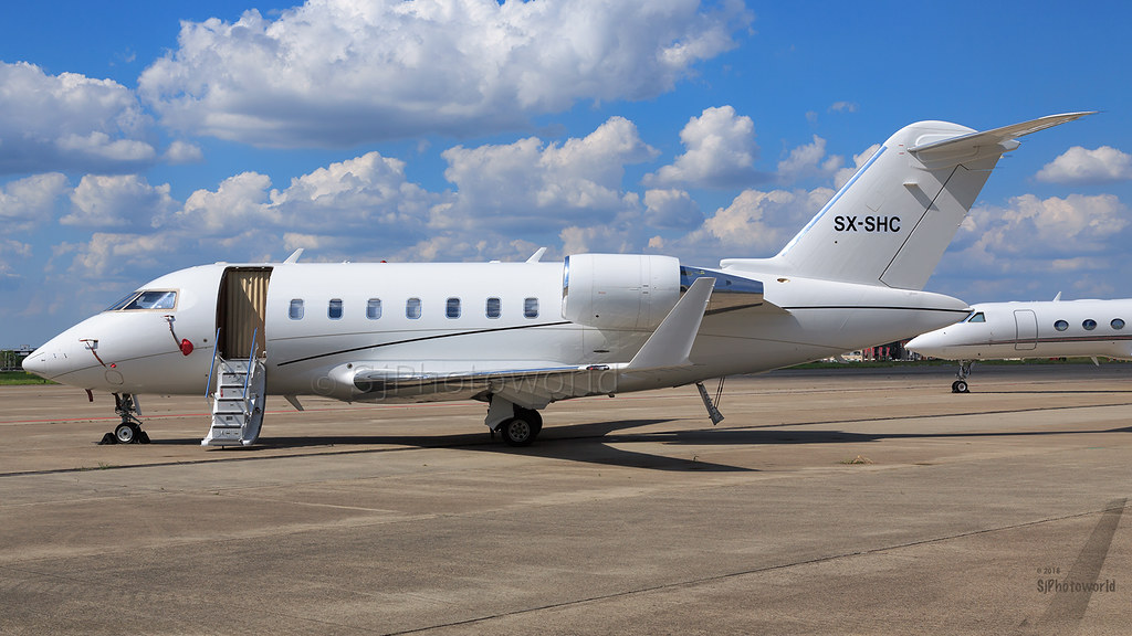 SX-SHC - CL60 - GainJet Aviation