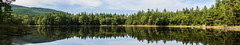 Panoramic of Gilson Pond, Monadnock State Park, New Hampshire