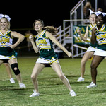 B Lip JV Cheer @ Game v H Hall 9-29-16