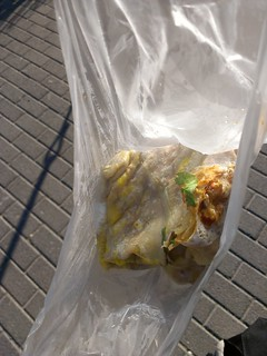 JianBing in its plastic bag