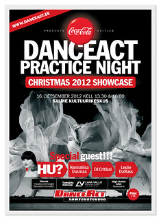 DanceAct Practice Night Christmas 2012 Showcase