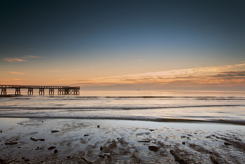 light beach sunrise dawn pier surf wake day waves traffic maryland clear ripples pasadena chesapeakebay downspark passingship singhrayrgnd notanothersunrise