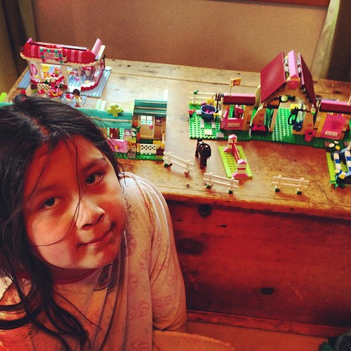 Maja's Lego Friends village