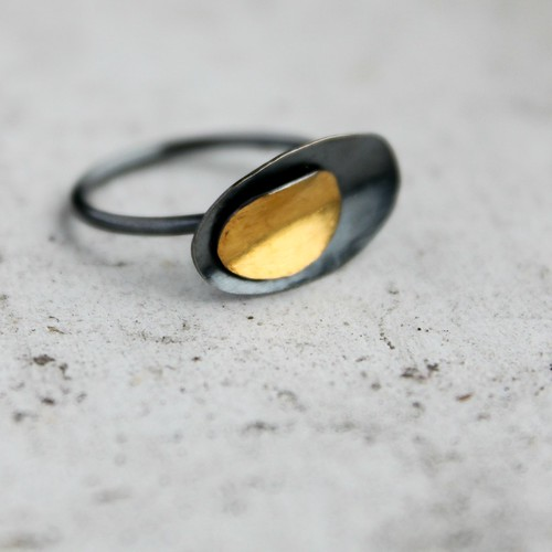 Layered Petals Ring