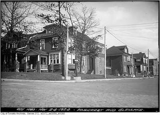 Pine Crest Road and Glenlake Avenue