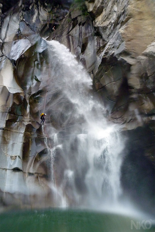 Canyoning in Val Lodrino 2012