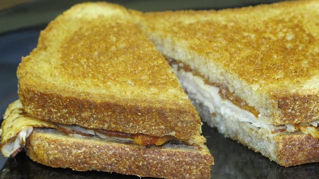 Turkey and bacon melt