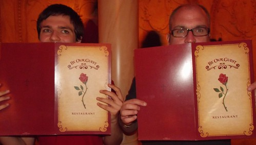 Cody and Paul Be Our Guest Restaurant Menu