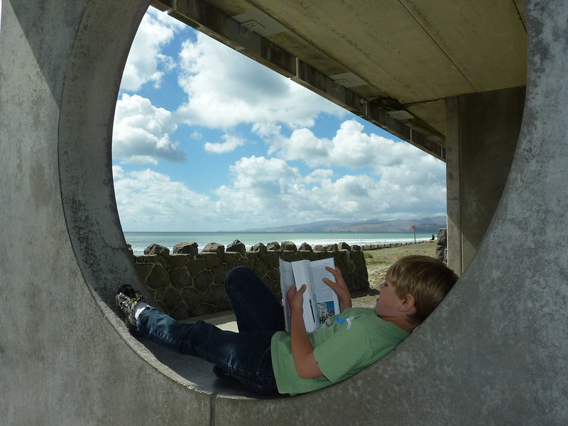 Summertime Reading Club photo competition - 1st prize