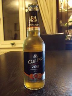 Coors, Carling Zest, England