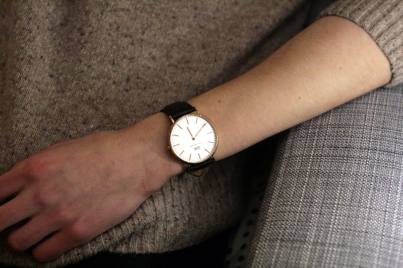 daniel wellington black