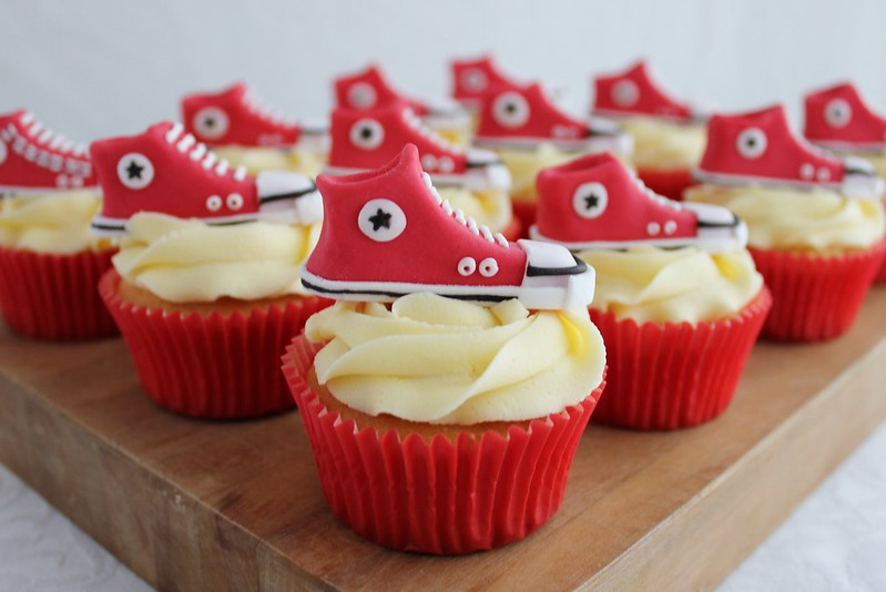 Converse Chuck Taylors Cupcakes