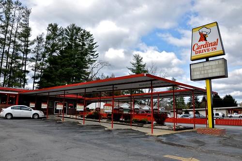 Cardinal Drive In Restaurant Brevard NC