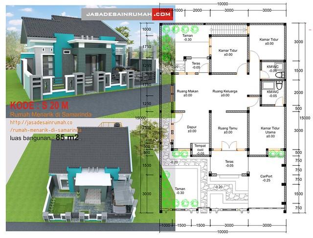 Berhasil atau tidaknya desain ini memberikan komposisi t&ak rumah yang bagus? kami serahkan langsung kepada pemirsa untuk menilai.