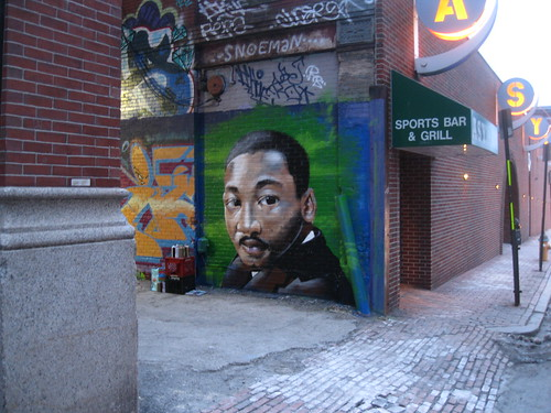 R.I.P. Dr. Martin Luther King Jr./ 20 degree homage by Muy Rico