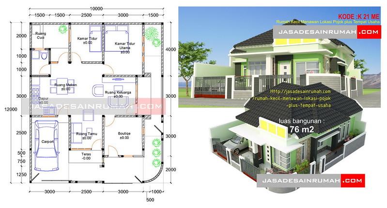 Desain Rumah Minimalis Dengan Tempat Usaha rumah indah menawan 2 lantai ukuran sedang di jakarta jasa