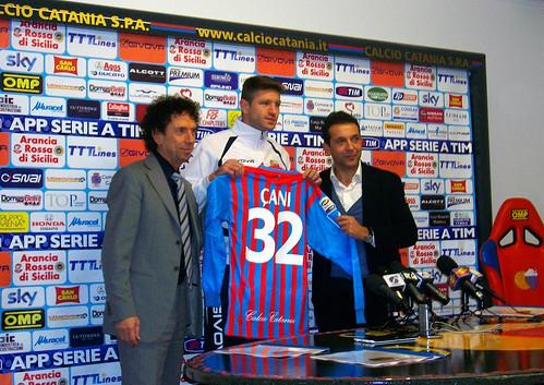 """Catania, Çani: """"Ho accettato subito la proposta, adesso voglio dare il mio contributo""""$"""