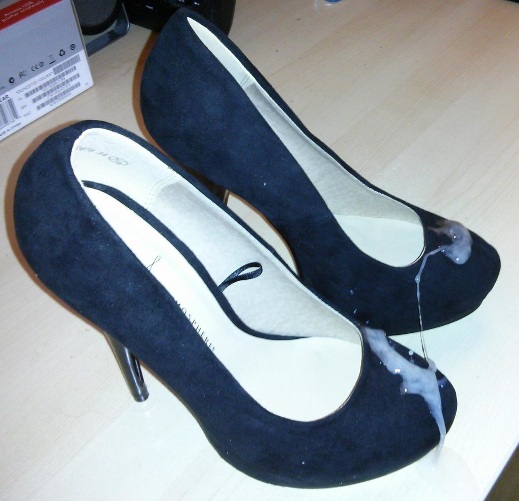 Cum on suede heels - a photo on Flickriver
