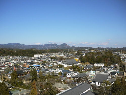 Kakegawa and mountains