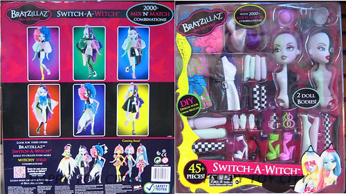 NEW Bratzillaz Switch-A-Witch sets!