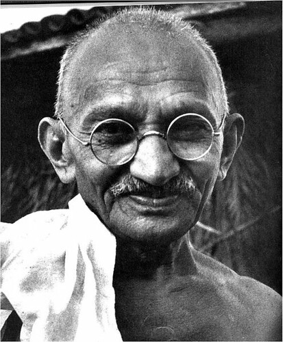 "Murdered on 30 Jan.1948 by a Hindu nationalist who thought Gandhi was too sympathetic to India's Muslims. 30 January is observed as Martyrs' Day in India. The honorific Mahatma (""Great Soul"") was applied to him by 1914 applying Thoreau's Civil Disobedienc by ""†OnlyByGrace"""