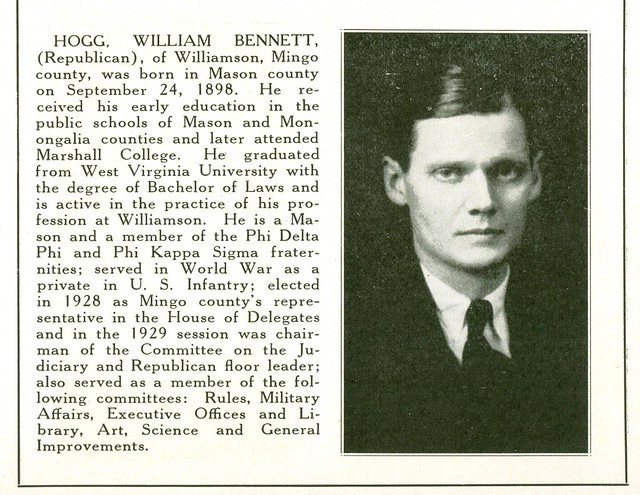 Header of William Bennett