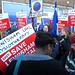 Medical staff protest to save Lewisham Hospital