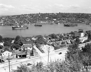 Lake Union from Queen Anne, 1936