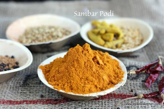 Sambar Powder 1