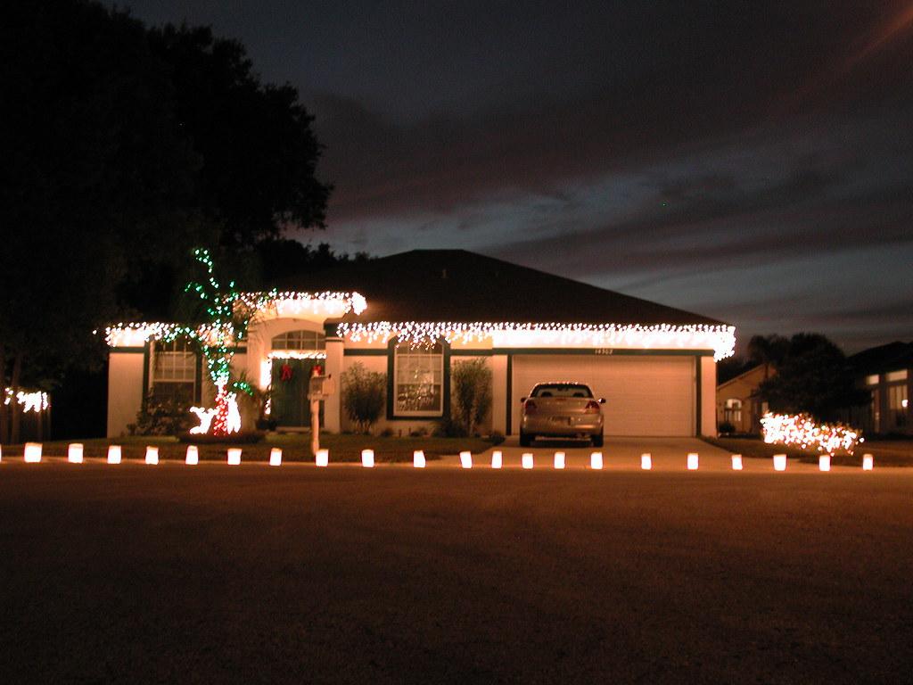Christmas lawn decoration