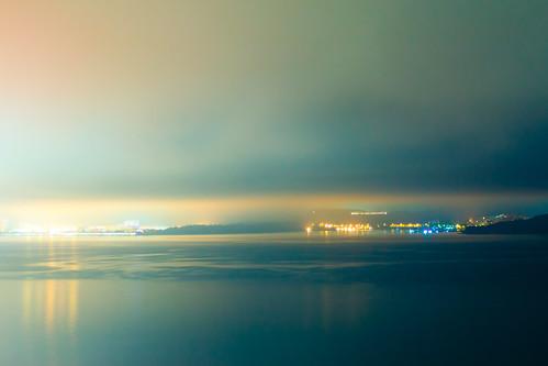 """""""夜雨霧濃山無形 水影明照彩霞城""""  / 夜之寧 Serenity at Night  / SML.20130206.EOSM.01652.P1"""