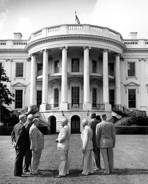 President Harry S. Truman and the Committee for the Renovation of the White House, 06/20/1949