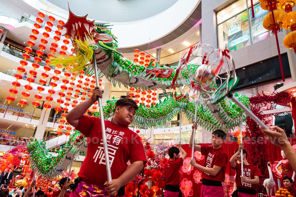 Dragon Dance @ Pavilion, Kuala Lumpur, Malaysia