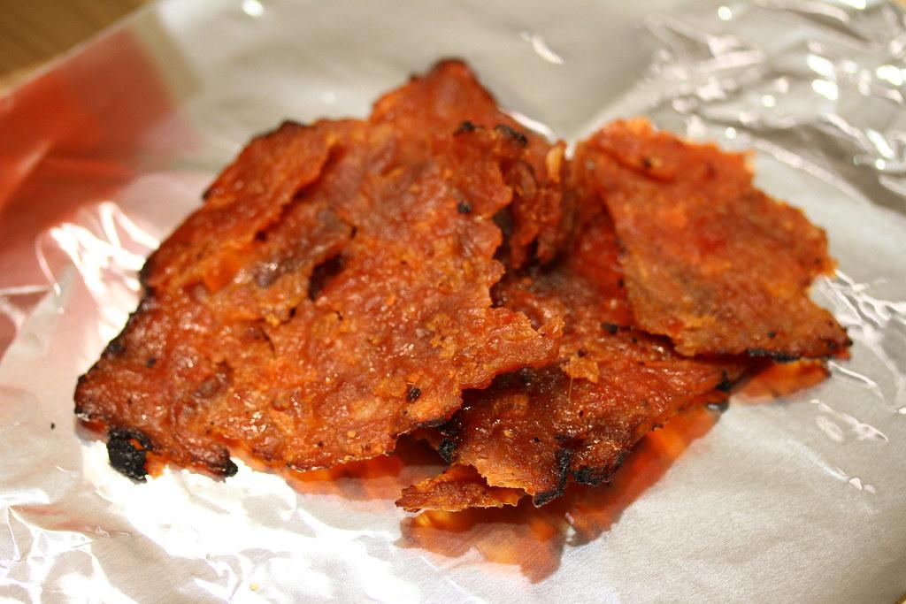The Ultimate Bak Kwa Taste Test: Bee Hock Guan (sliced pork)