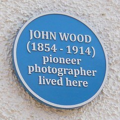 Photo of John Wood blue plaque