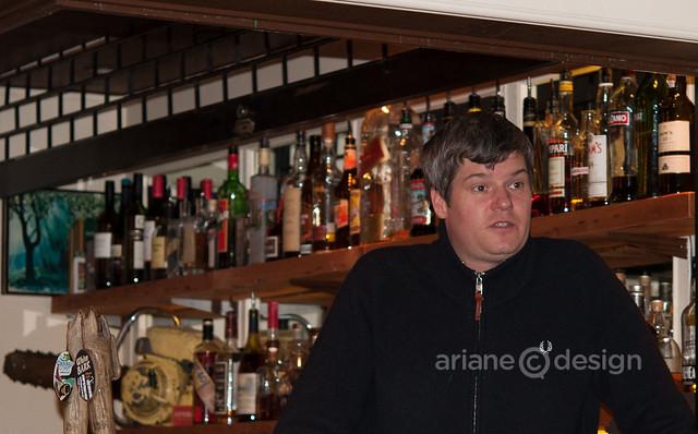 Argyle Attic General Manager Andrew Elliott