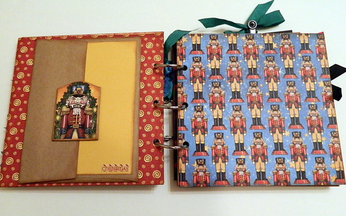 Graphic 45 Ring Bound Nutcracker Sweet Mini Album