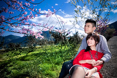 [Free Images] People, Couple, Cuddle Close Together, Taiwanese People, People - Flowers / Plants ID:201302181600