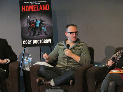 Cory Doctorow panel discussion