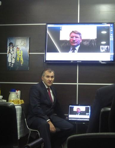 Дмитрий Оводенко с Алекссем Свистуновым