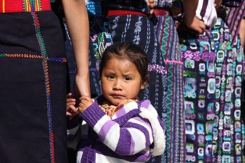 Traditional weaving in Guatemala