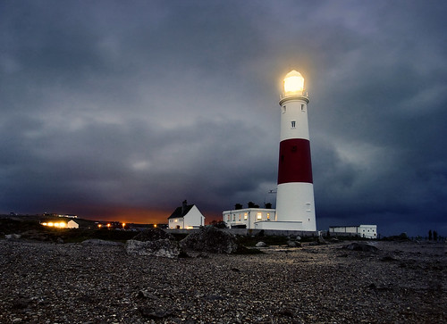 Lighthouse in Portland Bill