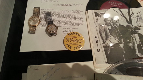 Sparks Fan Club button @ Rick's Picks (Rick Nielsen/Cheap Trick exhibit)