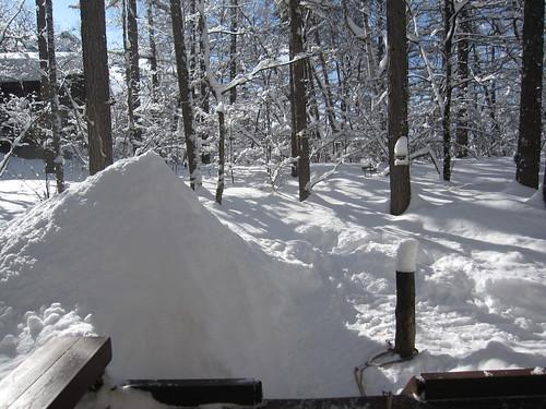 雪の山 by Poran111
