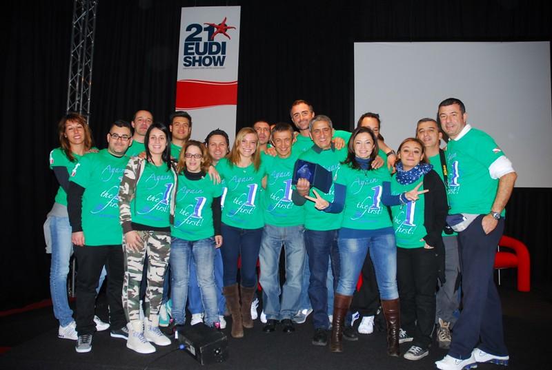 Premiazione PADI all'EUDI Show 2013